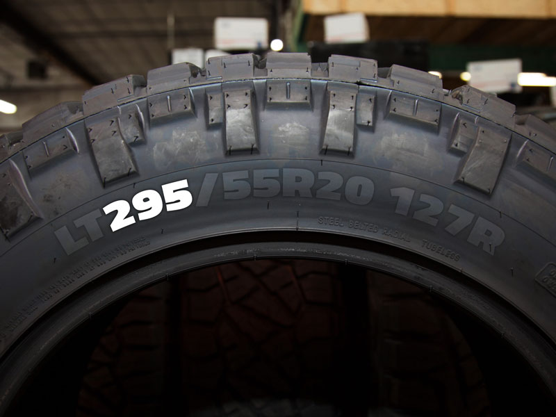 Tire Guide - Tire Width