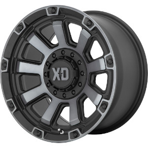 XD Series XD852 Gauntlet Black W Gray Tint