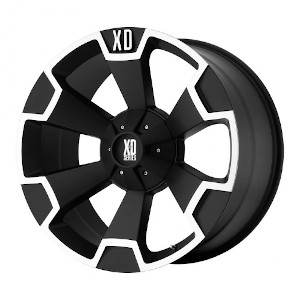 XD Series XD803 Thump Matte Black Machined