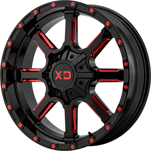 XD Series XD838 Mammoth Black W/ Red Accents