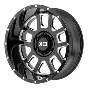 XD Series XD828 Delta Black Milled