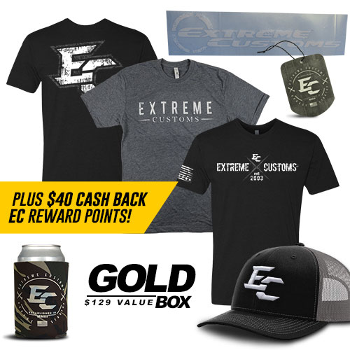 EC Gold Box + You Get $40 EC Cash Back!