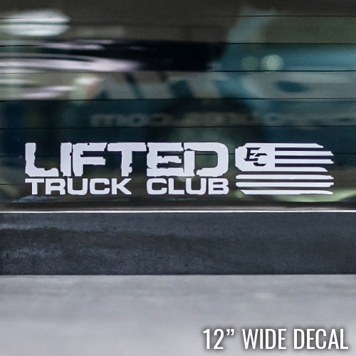 LTC Decal - Small EC Flag - 12x2