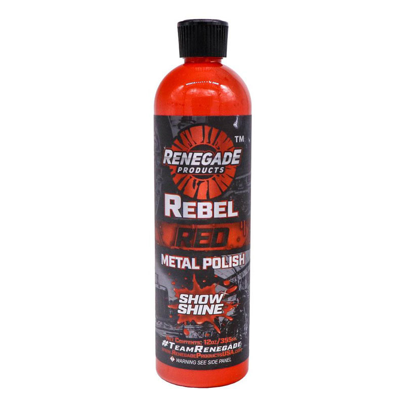 Rebel Red Hand Polish