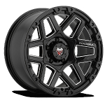 Mamba M23 595 Gloss Black W/ Machined Cut 20x9 +12